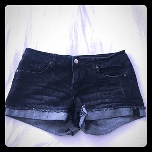 Forever 21 Cuffed Denim Shorts